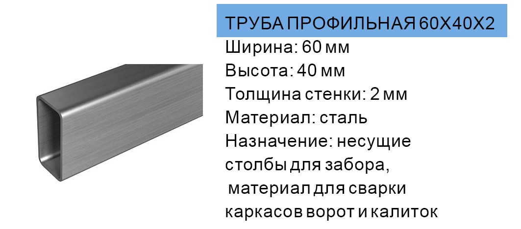 Truba profil'naja kupit' v Molodechno