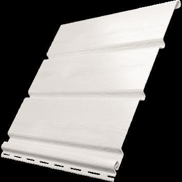 Белый софит Ю-пласт без перфорации