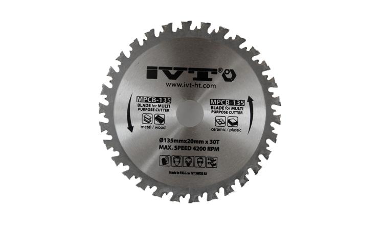 Диск режущий к мультирезаку IVT MPCB-135 — 1