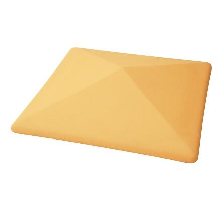 Крышка для забора бетонная 390-390 мм (цветная)
