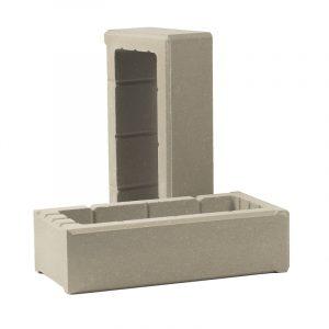 Т-блок для столбов заборов