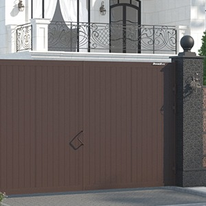 Распашные ворота и калитки DoorHan